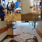 Storm damage: Union Hospital Alberton