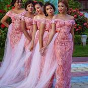 Ladies Check Out These Colourful Maid Of Honour Styles For Special Weddings And Receptions
