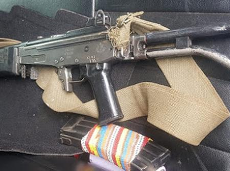 Is This War? Protesting Student in Braamfontein Found With This Very Dangerous Gun, Fully Loaded