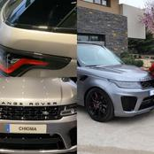 Chioma Receives A New Range Rover Car Worth Millions Of Naira As Birthday Gift From Husband, Omeruo