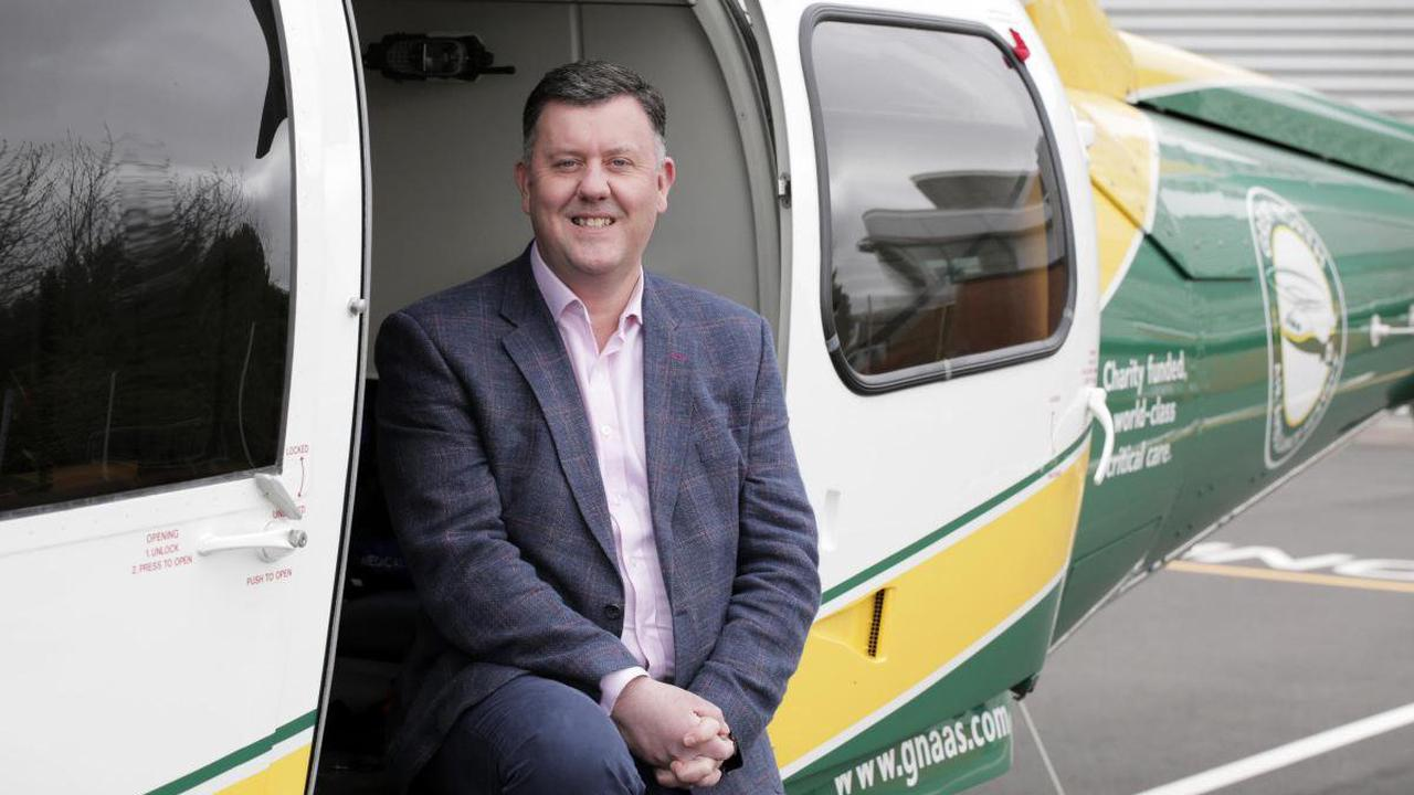 New chief executive proud to lead life-saving air ambulance charity