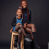 31-Years-Old Actress Twin In The Same Outfit With Her Daughter As She Celebrates Her 5th Birthday