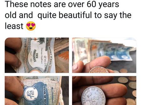 I Found Ancient Biafran Currency In My Father's House And They Are Quite Beautiful - Chioma