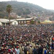 Road of million people to moria
