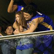 Sad: Maradona's Daughter Dalma Was in Tears as Her Father Wasn't Available To Do This Along With Her