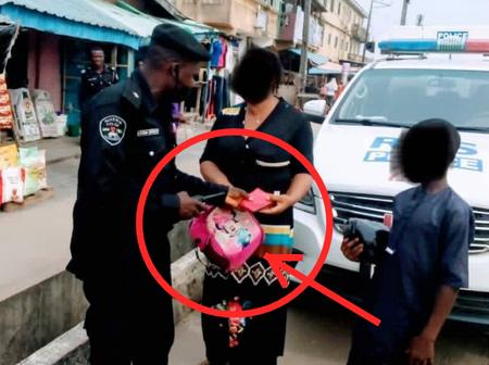 Police gradually followed passenger on a bike to her destination after a purse fell from her