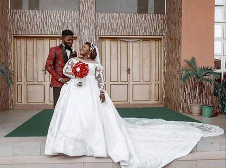 Gospel Singer Judikay Finally Marries The Love Of Her Life. Check Out Their Lovely Wedding Pictures