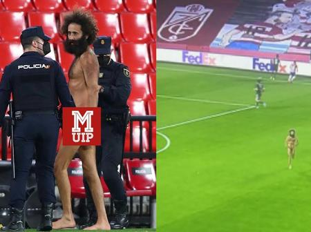 Why Granada Naked Man Invaded The Pitch As Manchester United Thrashed Granada