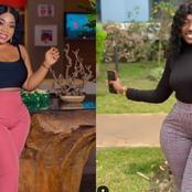 Moesha replies fan who said Hajia Bintu's body is natural and hers fake.