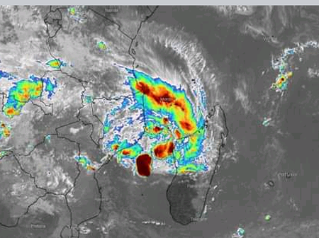 A dangerous tropical cyclone is on the way