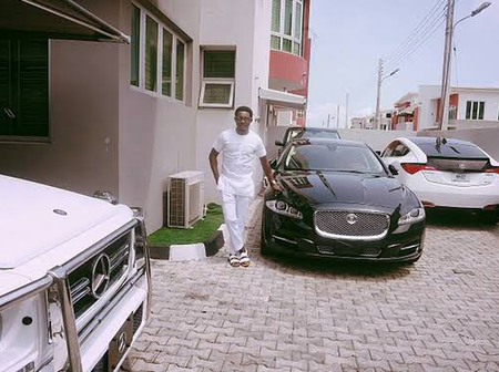 Check Out The Interior Of AY's Luxurious Mansion and Some of His Expensive Cars (Photos)