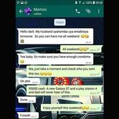A mother sent a text mistakenly to her son and see the respond she got