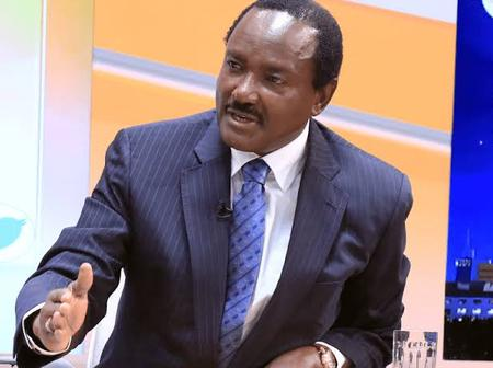 Kalonzo Musyoka Terms DP Ruto A Tribal Chief, Affirms One Kenya Alliance Is Meant To Unite Kenyans