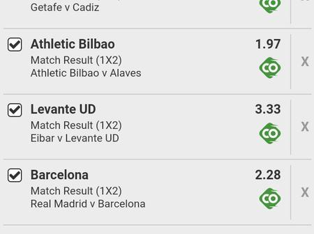Win Big This Sato In Well Predicted Today's Spanish Laliga Matches