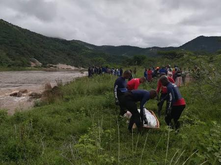 Multiple bodies of Zama Zamas fished out of a stream behind a police station