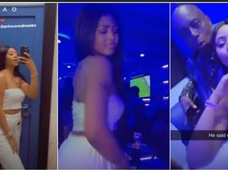 Regina Daniel whines waist for husband Ned Nwoko in clubbing publicly, to woe her naysayers.