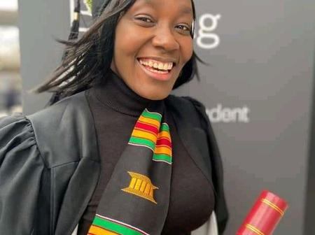 Miss Charity From Akwa Ibom, 2021 Best First Class MBA Graduates From Eastern London University
