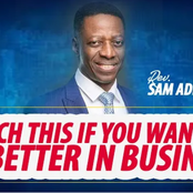 Pastor Sam Adeyemi reveals secret that guarantees success in business