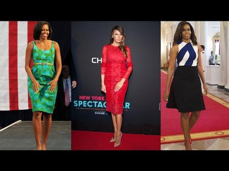 Between Donald Trump Wife (Melania) And Barrack Obama Wife (Michelle), Who Is More Hot? (Photos)