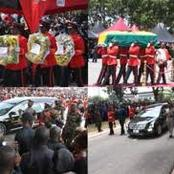Eight Years After His Death, See Photos Of What Happened During Atta Mills Burial Ceremony.