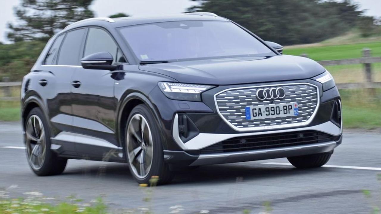 Audi Q4 e-tron: le cher cousin électrique du Volkswagen ID.4