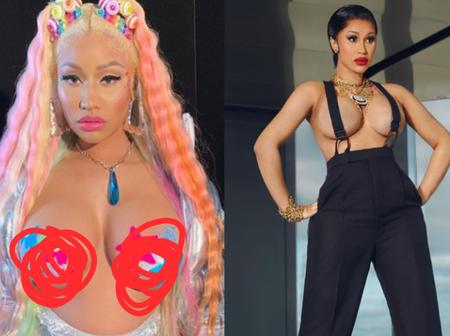 Mouth-Watering Photos Of Cardi B And Nicki Minaj Showing Us Their Gorgeous Body