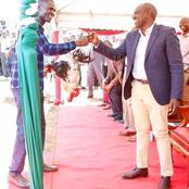 William  Ruto's  Pay Back To  Evans Mukakha After He Receiving A Chicken
