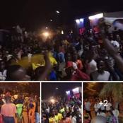 C'est chaud ce soir à Yakro: après la victoire du RHDP, des militants de l'opposition dans les rues
