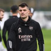 Granit Xhaka Talked Of His Relationship With Arteta Ahead of 2nd Leg Europa Clash Against Benfica