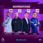 Chelsea coach, Thomas Tuchel nominated for EPL coach of the month