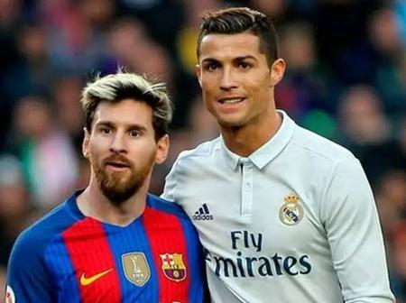 Ronaldo has more International goals than Messi, see the statistics