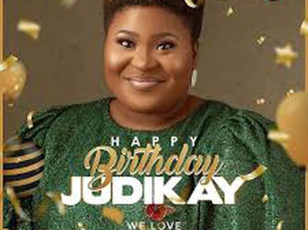 See cute pictures Judikay as she celebrates her birthday.