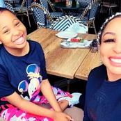 Khanyi Mbau's 13 years old daughter Khaz reveals her relationship status.