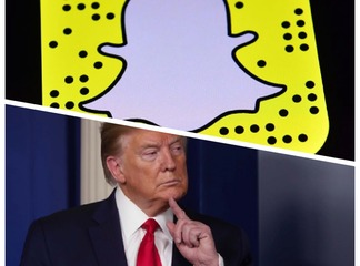 Les dirigeants de Snapchat sanctionnent Donald Trump