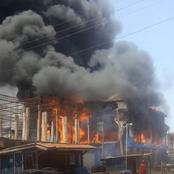 Fire outbreak in Techiman Central Market destroys goods worth thousands of Ghana cedis