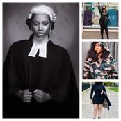 See Beautiful Photos Of A Lady Who Claims She Is A Lawyer, That Got People Talking On Facebook.