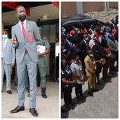 Check Out How EFCC New Boss Bawa, Addresses Staff Under The Sun That Sparked Reactions