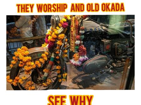 Instead Of Worshiping God, Meet The Indian People Who Worship An Old Motorcycle