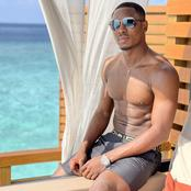 Former Manchester United Striker, Odion Ighalo serves skin goals in new pictures
