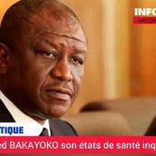 Santé inquiétante d'Hamed Bakayoko : Son hospitalisation en France prolongée (communiqué présidence)