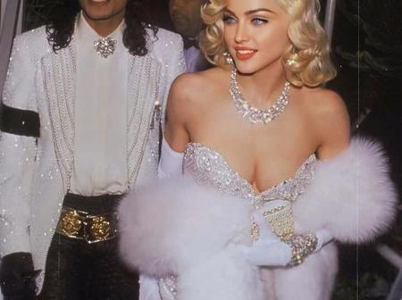 Throwback Pictures Of Micheal Jackson And Madonna That Shows True Love.