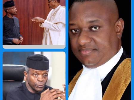 People know Osibanjo is doing his duties well but they want him to disobey Buhari - Festus Keyamo
