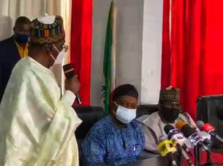 PHOTO NEWS: PDP Inaugurates Electoral And Comstitution Review Committee