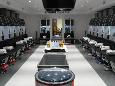Which is More Beautiful, Juventus Dressing Room Or Barcelona Dressing Room(Photos).
