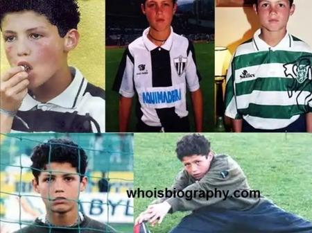Once upon a time: Christiano Ronaldo, the boy from Madeira.