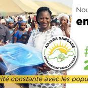 Adjaratou Sangaré un autre choix populaire de la direction RHDP dans le Folon-kabadougou