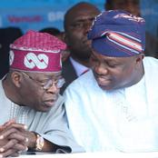 Tinubu reveals why he refused to support Ambode's 2nd term, see what he said