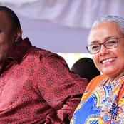 President Uhuru Kenyatta's First Comment When He Saw Margaret For The First Time