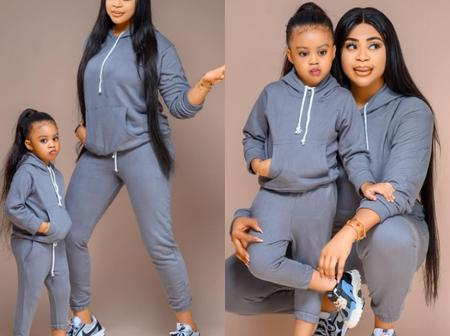 Nollywood Actress Celebrates Daughter's Birthday In Style