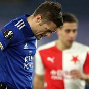 Leicester City eliminated after a 2-0 defeat to Slavia Praha in the Europa league
